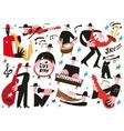 jazz musicians - vector image