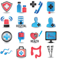 Set of medicine icons - part 1 vector image