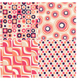 retro seamless abstract pattern vector image