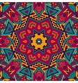 Abstract ornametal ethnic tribal pattern vector image