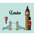 london england landmark set design vector image