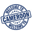 welcome to cameroon vector image