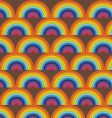 rainbow pattern vector image vector image