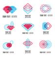 diamond symbol 1 vector image vector image