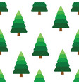pine tree pattern vector image