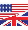 usa uk flag unity1 vector image