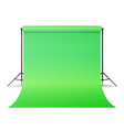 empty photo studio hromakey modern photo vector image