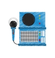 sound element icon design vector image
