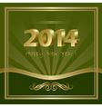 2014 New Year background vector image vector image