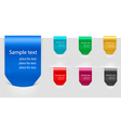 group with color tags vector image