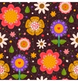 Floral seamless texture pattern vector image vector image
