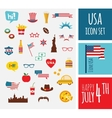 American design elements vector image