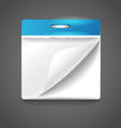 Paper diary vector image vector image