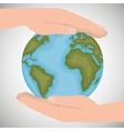 environmental protection save the world vector image