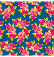 Summer Rose Pattern vector image vector image