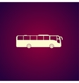 Bus Icon concept for design vector image