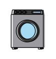 laundry washer machine vector image
