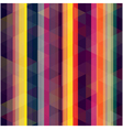 Seamless retro stripe background vector image