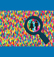 search people vector image