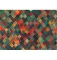 flat triangle retro color geometric background vector image