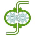 Pump vector image vector image