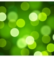 Abstract blurred Saint Patrick Day background vector image