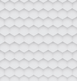 Abstract white hexagon seamless pattern vector image