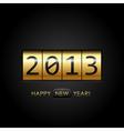 2013 digital year vector image
