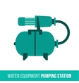 Flat icon water equipment vector image