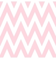 Pattern in zigzag Classic chevron seamless pink vector image