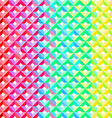 Rainbow Geometric Pattern vector image