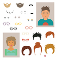 Character designer vector image vector image