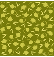 Green tea background vector image