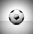 Football Soccer ball design vector image