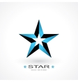 symbol of star vector image