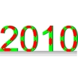 Puzzle 2010 color 01 vector image vector image