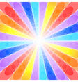 Abstract rainbow background vector image