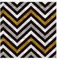 seamless gold zig zag pattern vector image
