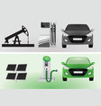 eco energy concept vector image