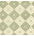 Light vintage squared seamless pattern geometric vector image vector image