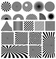 Shine set vector image