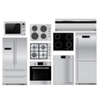 Home appliances Set of household kitchenware vector image
