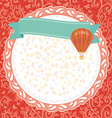 Card message banners place for your text graphic vector image