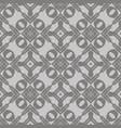 grey ornamental seamless line pattern vector image