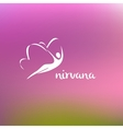 Nirvana logo vector image