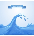 Wave Splash vector image