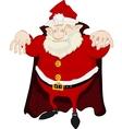 Dreadful Santa vector image