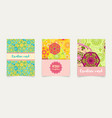 set ethnic cards invitations flyers banners a4 vector image vector image