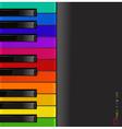 piano3 vs vector image vector image