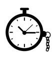 Timer vintage clock vector image